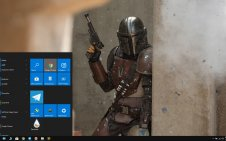 Mandalorian win10 theme