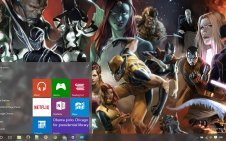 Marvel win10 theme