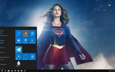 Supergirl (TV series) win10 theme