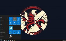 Marvel's Agents of S.H.I.E.L.D. win10 theme