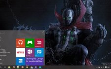 Spawn win10 theme