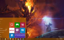 Lord of the Rings win10 theme