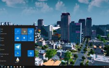 Cities: Skylines win10 theme