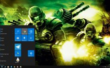 Command & Conquer win10 theme