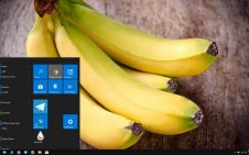 Banana win10 theme
