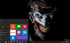 Joker win10 theme