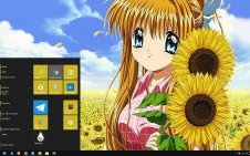Misuzu Kamio win10 theme