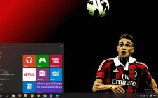 AC Milan win10 theme