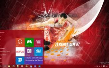Jeremy Lin win10 theme