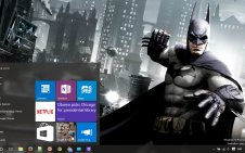 Batman Arkham Origins win10 theme