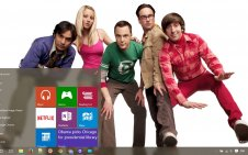 The Big Bang Theory win10 theme