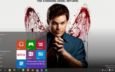 Dexter win10 theme