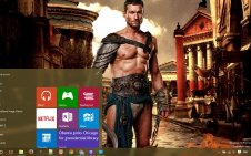 Spartacus win10 theme
