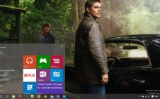 Supernatural win10 theme