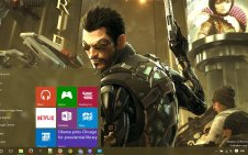 Deus Ex Human Revolution win10 theme