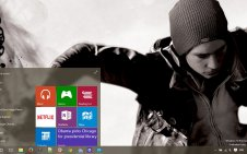 Infamous Second Son win10 theme