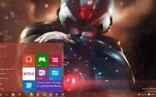 Mega Man win10 theme