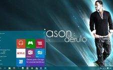 Jason Derulo win10 theme