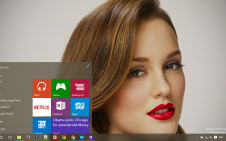 Leighton Meester win10 theme