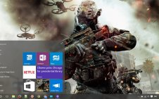 Call of Duty Black Ops 2 win10 theme