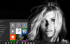 Brooklyn Decker win10 theme