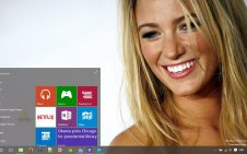 Blake Lively win10 theme