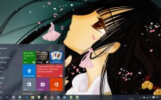 XxxHOLiC win10 theme
