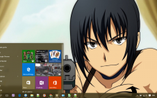 Canaan win10 theme