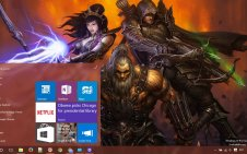 Diablo 3 win10 theme