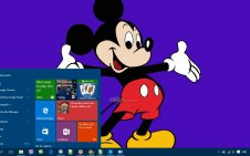 Mickey Mouse win10 theme