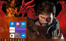 Dragon Age II win10 theme