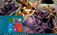 Aquaman win10 theme
