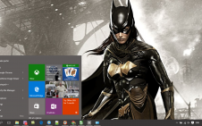 Batwoman win10 theme