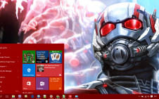 Ant-Man win10 theme