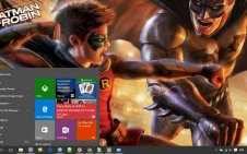 Batman And Robin win10 theme