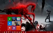 Romantically Apocalyptic win10 theme