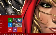Grimm Fairy Tales win10 theme