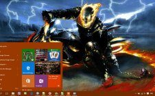 Ghost Rider win10 theme