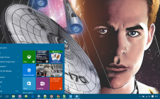 Star Trek Comics win10 theme