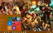 Collage Comics win10 theme