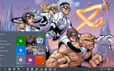Fantastic Four win10 theme