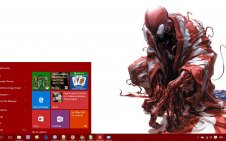 Carnage win10 theme