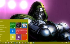 Doctor Doom win10 theme