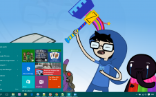Homestuck win10 theme