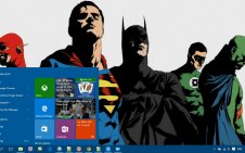 DC Comics win10 theme