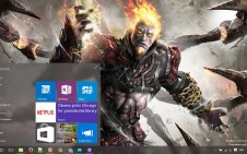 God of War Ascension win10 theme