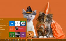 Cute Halloween win10 theme