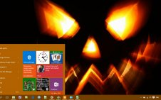 Scary Halloween win10 theme