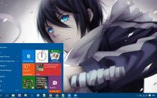 Noragami win10 theme