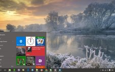 Winter win10 theme